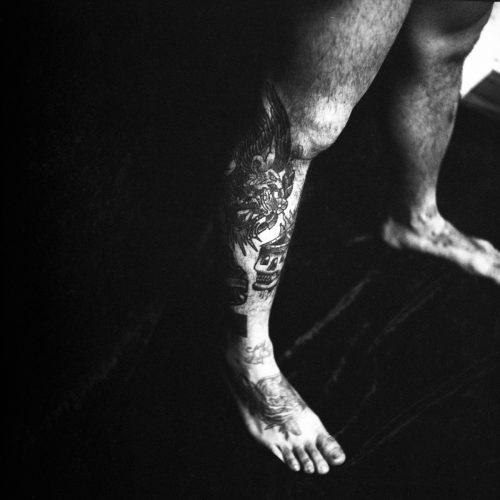 Detail #1, Vitruvian Man, 2016