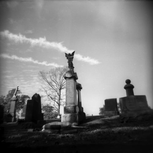 Karissa in Cemetery II, 2018