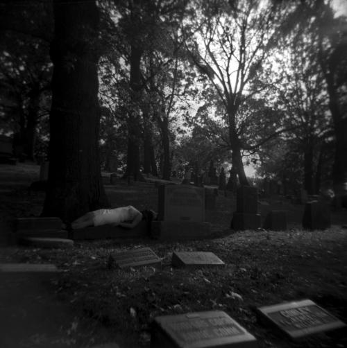Karissa in Cemetery III, 2018